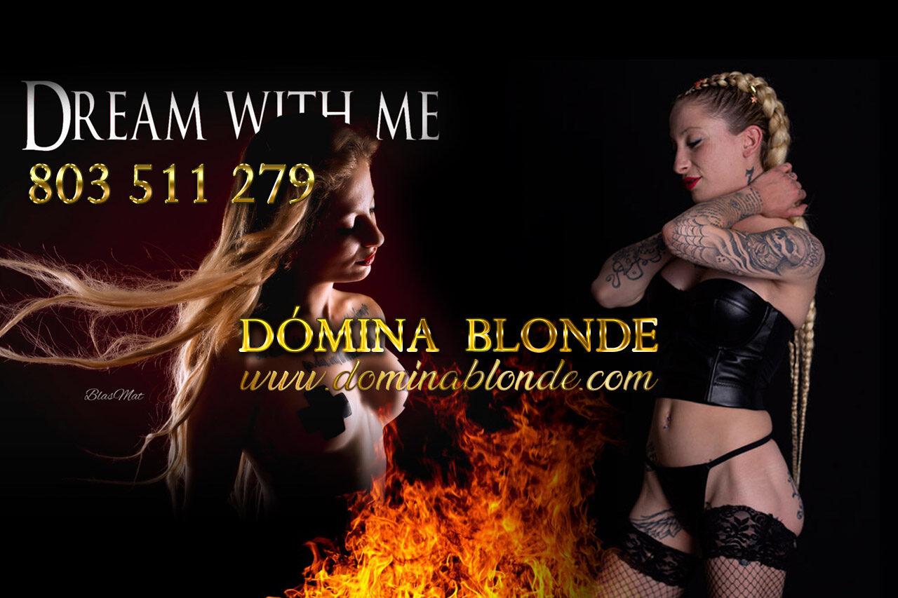 Domina Blonde – Perversa y exigente, me gusta dominar!