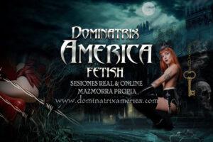 Dominatrix America · Mi voluntad es la única ley existente en mi reino.